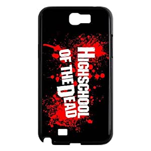 HIGHSCHOOL OF THE DEAD Samsung Galaxy N2 7100 Cell Phone Case Black g1870566