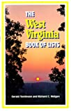 The West Virginia Book of Lists, Gerald Tomlinson and Richard C. Weigen, 0917125037