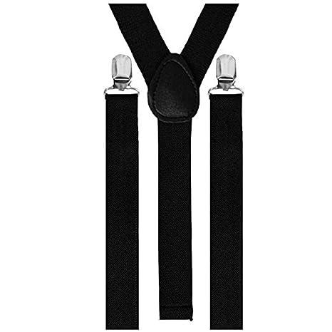 Leisial Elástica Tirantes Pantalones Traje de Etapa Ropa Caballero de Alta Resistencia para Unisex Hombre y Mujer Longitud Ajustable