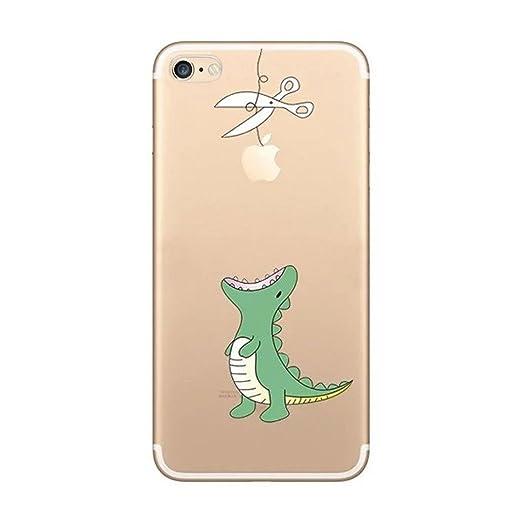 12 opinioni per Custodia iPhone 7, Yoowei® Divertente Motivo Design Colorato Cristallo