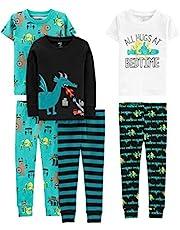 Pijama de Algodón de 6 Piezas, Simple Joys by Carter's