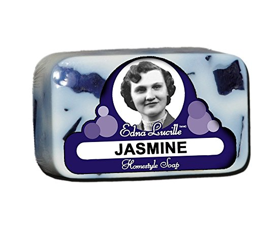 Edna Lucille  All Natural Homestyle Jasmine Soap 6.5 oz -