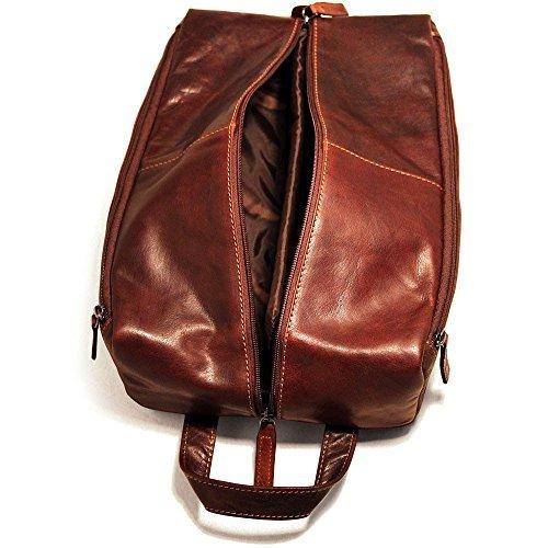 Jack Georges Voyager Shoe Bag Brown by Jack Georges