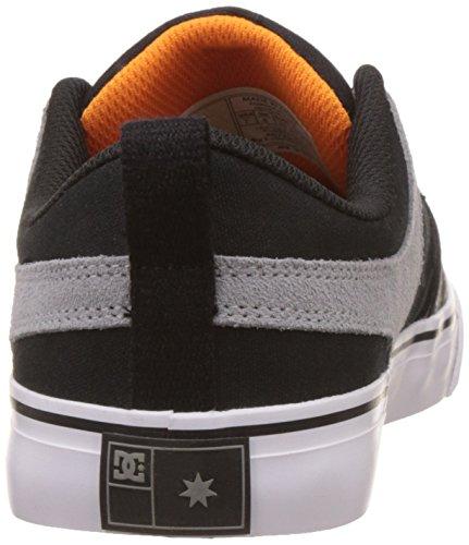 DC Shoes Lynx Vulc Blabac - Scarpe da Ginnastica Basse Uomo nero black/orange/grey40