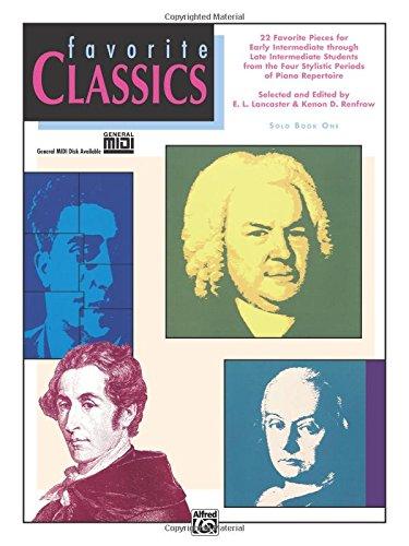 Favorite Classics, Bk 1: Solo (Alfred Publishing Piano)