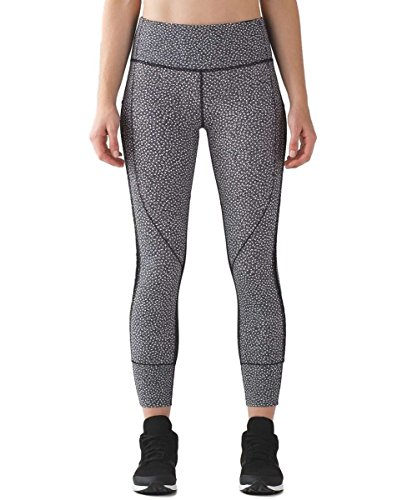 Lululemon Hit IT 7/8 Tight - FRFB/Blk - Size 4 by Lululemon