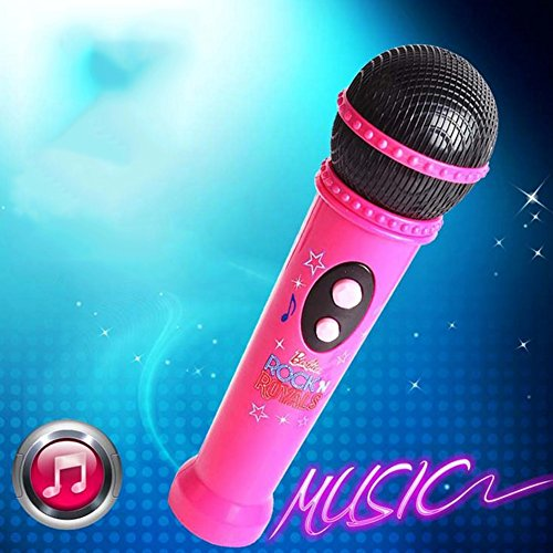 Lanlan Kids Microphone Music Player Built In Speaker, Children Karaoke Toys