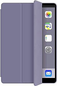 KenKe iPad 9.7 case iPad 6th Generation Case/iPad 5th Generation Case iPad 2018/2017 Case Soft TPU Back Cover Auto Sleep/Wake, Protective for iPad 5th/6th Gen case Cover 9.7 inch - (Purple)