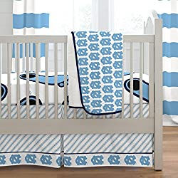 Carousel Designs University of North Carolina 3-Piece Crib Bedding Set