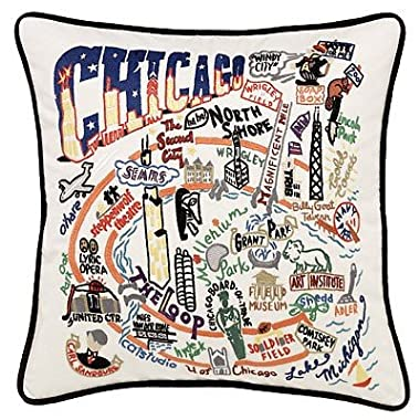 Catstudio Chicago Pillow - Geography Collection Home Décor 090(CS)
