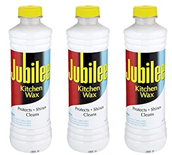 jubilee kitchen cleaning wax for appliances surfaces bathroom 15 oz pack of - Jubilee Kitchen Wax