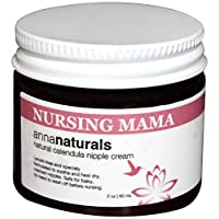 Anna Naturals Nursing Mama Nipple Cream Organic Balm, 2 oz
