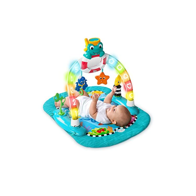 0df9bcb39 Baby Einstein 2-in-1 Lights   Sea Activity Gym   Saucer