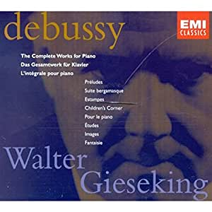Debussy: The Complete Works For Piano