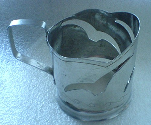 Gull USSR Soviet Union Russian stainless steel Glass holder