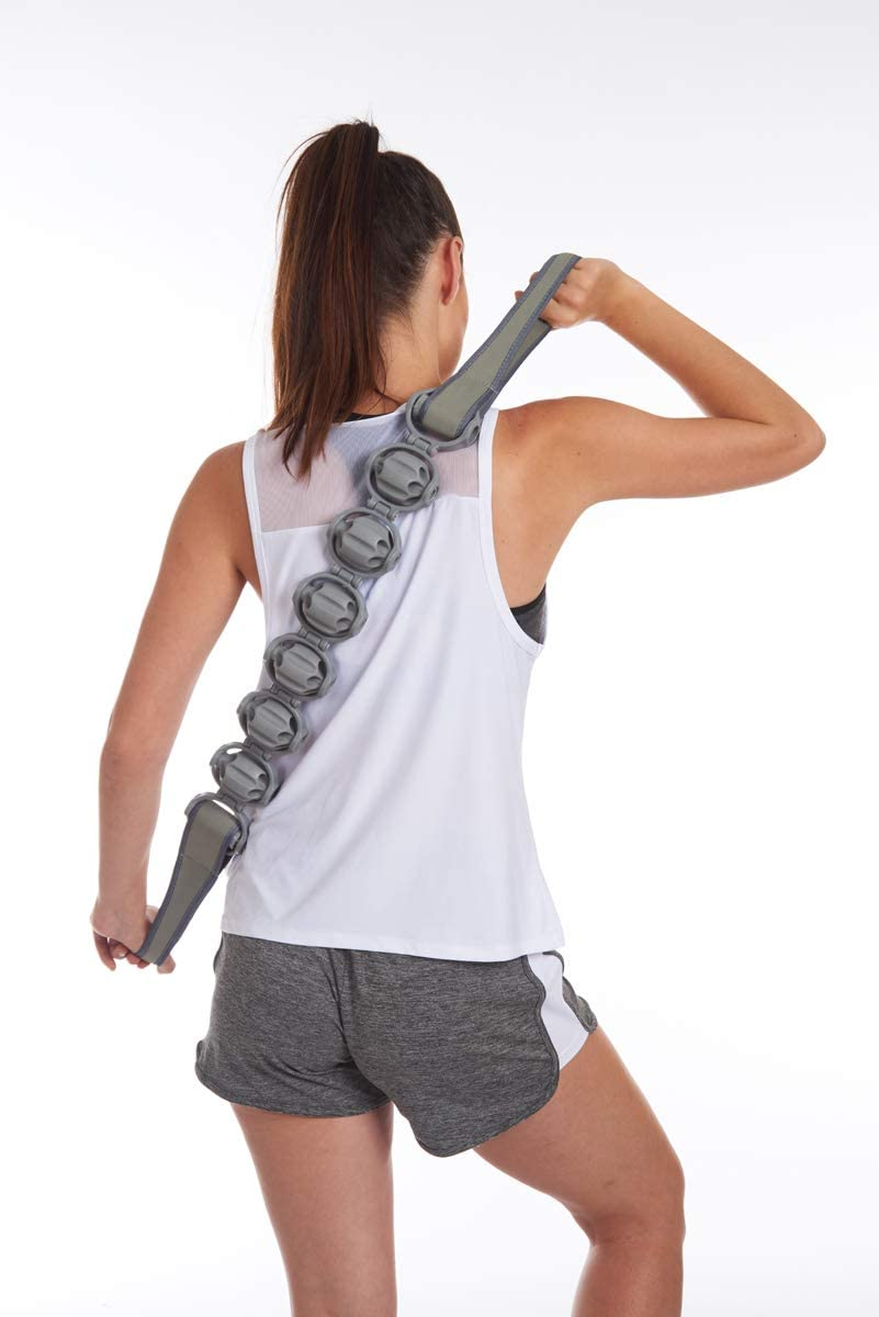 EDX Massage Roller Flexible Strap for Muscle Recovery Fitness /& Physical Therapy