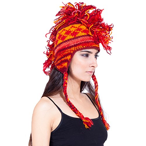 Lakhays Knit mohawk hat product image