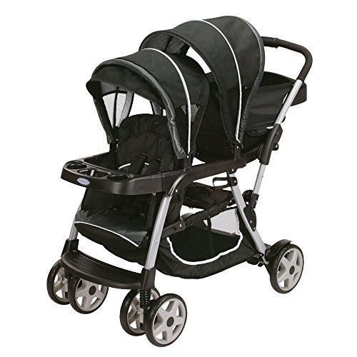 Double Stroller Swivel Front Wheel - 6