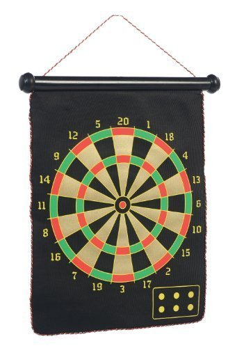 Dart Set Magnetic Two Sided Recreational Game Packed in Tube