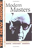 img - for The New Grove Modern Masters (The New Grove Series) book / textbook / text book