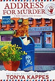Address For Murder: A Cat Cozy Mystery: A Mail Carrier Cozy Mystery