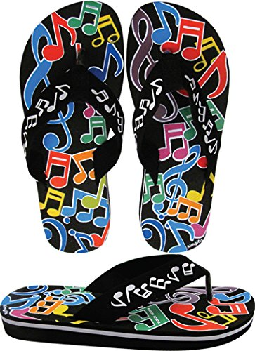 womens-music-note-flip-flops-size-9-large