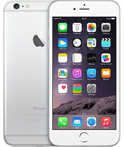 Apple iPhone 6 Plus, GSM Unlocked, 16GB - Silver (Renewed)