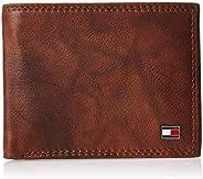 Tommy Hilfiger Men's RFID Blocking Leather Extra Capacity Traveler Wa