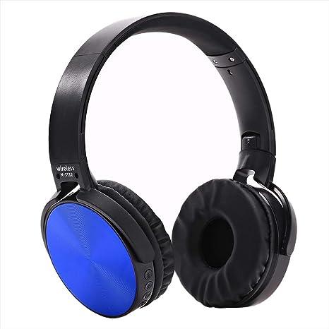 Auriculares Bluetooth Inalámbrico Tarjeta SD Conectable ...