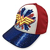 DC Comics Wonder Woman Girls 3D Baseball Cap - 100% Cotton