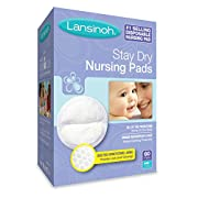 Lansinoh Nursing Pads, Pack of 60 Stay Dry Disposable Breast Pads