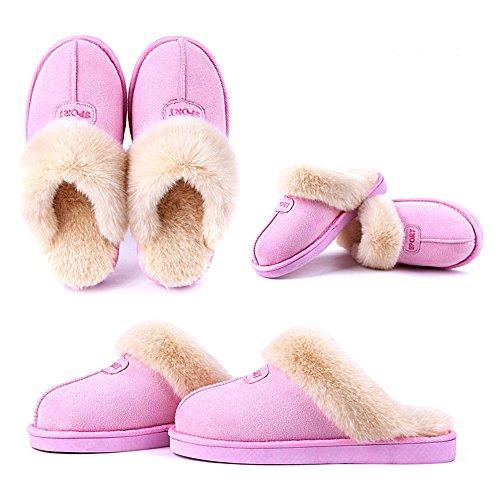 Mousse Chaussons Chaud Automne on Femmes Coton De d'intérieur Pantoufles Maison Lavable Hommes Coton Coton Confortable et Hiver Slip Chaussons 001 Peluche Pantoufles WDGT Z0OnW1H0