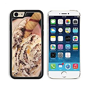 Ice Cream Cocoa Tubule Dessert Creamy Apple iPhone 6 TPU Snap Cover Premium Aluminium Design Back Plate Case Customized Made to Order Support Ready Liil iPhone_6 Professional Case Touch Accessories Graphic Covers Designed Model Sleeve HD Template Wallpaper Photo Jacket Wifi Luxury Protector Wireless Cellphone Cell Phone