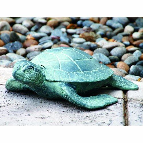 SPI Home AL13662 Garden Turtle Sculpture (Turtle Garden Sculpture)