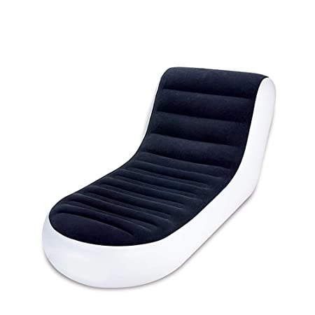 Plegable sillón reclinable sofá-Cama Doble sofá Hinchable ...