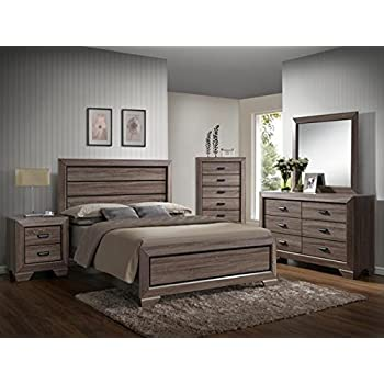 Amazon.com: Farrow Queen Bedroom Set: Kitchen & Dining