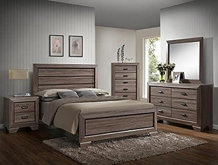 Amazon.com: Farrow Twin Bedroom Set: Kitchen & Dining