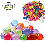 DABOMEI Water Balloons - Quick Fill WaterBomb Self Sealing for Summer Party,Swimming Pool,Outdoor Game (444BalloonsTotal)