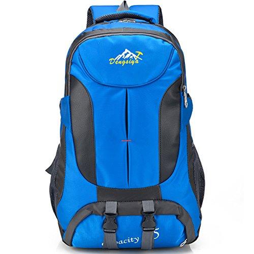 Lightweight Waterproof Foldable Backpack Hiking Travel Laptop Daypack (blue)