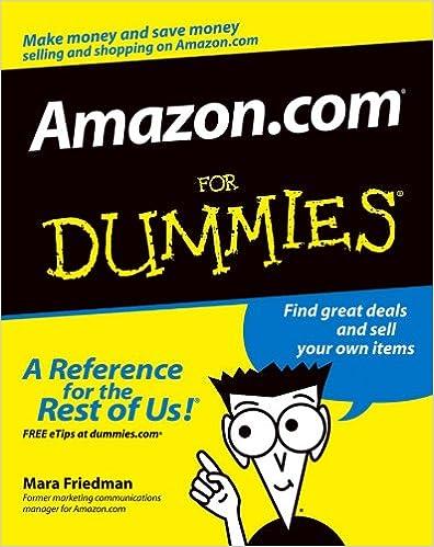 Amazon com: Amazon com For Dummies eBook: Mara Friedman: Kindle Store