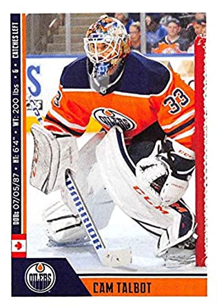 b4ca7e4e9 2018-19 Panini NHL Stickers Hockey #367 Cam Talbot Edmonton Oilers