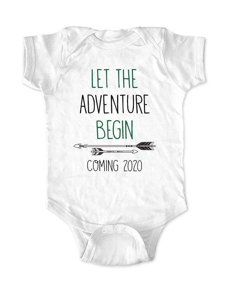 Amazon com: Let The Adventure Begin Coming 2020 - Boho Baby Birth