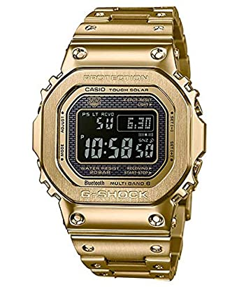 b8e040eb7 Casio G-Shock Radio Controlled Bluetooth Solar Gold Plated Steel ...
