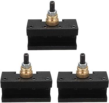 6 STÜCKE Mini Drehmaschine 1//4 Zoll  1 2 Zoll Drehwerkzeug Post Halter Für