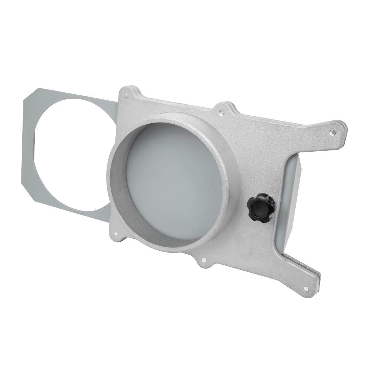 Powertec 4 Inch Aluminum Blast Gate Vacuum Dust Collector Collection System Part
