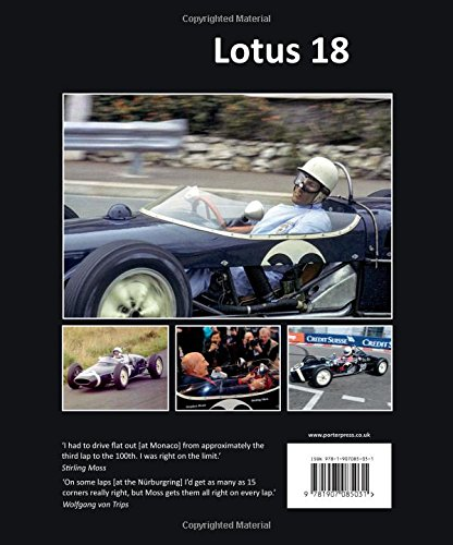Lotus 18: The autobiography of Stirling Moss's '912' (Great Cars)