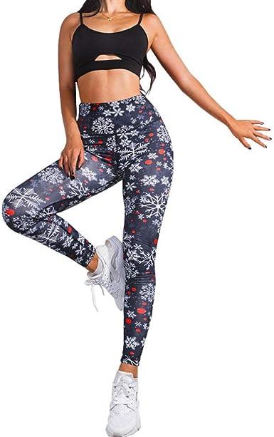 Filoviri Leggings Pantalon De Yoga pour Femme Flocons De