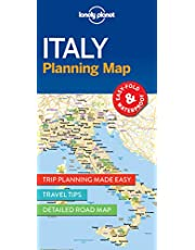 Lonely Planet Italy Planning Map 1st Ed.