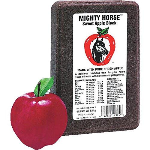 Mighty Horse Lick Sweet Apple Block