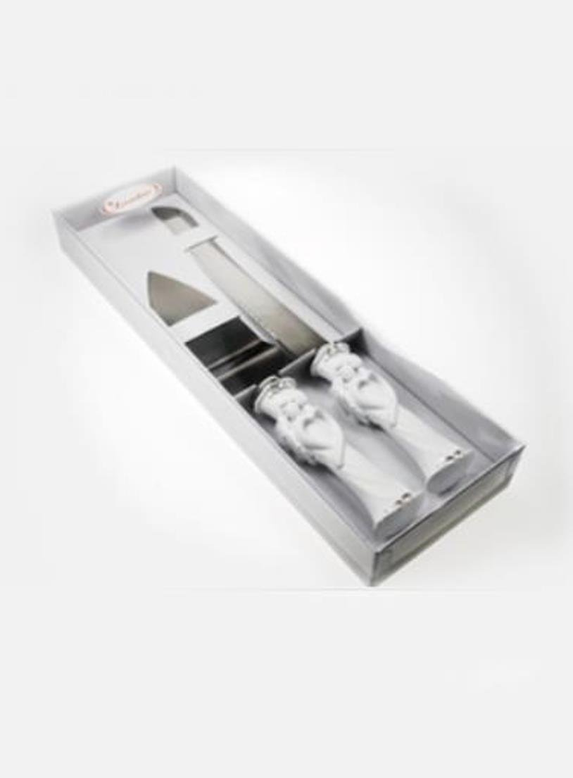 Tortenheber und Tortenmesser für die Hochzeitstorte. 1 Set: Amazon ...